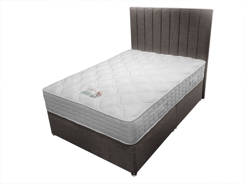 4ft small double sleep shop dual supreme 2015 divan set for Small double divan set